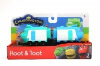 Набор Chuggington Паровозик с вагончиком Хут и Тут