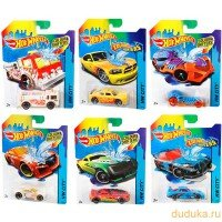 | Машинка Hot Wheels Color Shifters 1:64 в ассортименте