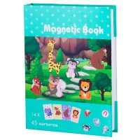 Развивающая игра Magnetic Book В зоопарке