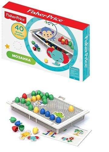 Мозаика настольная Fisher-Price