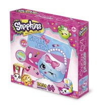 Пазл ORIGAMI Style icon Shopkins 64 элемента