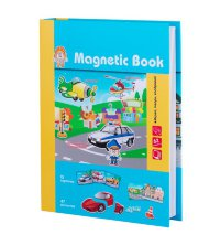 Развивающая игра Magnetic Book Весёлый транспорт