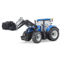 Трактор Bruder New Holland T7.315 с погрузчиком